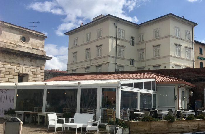 Copertura Bar Cellini Livorno
